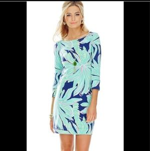 Lilly pulitzer sophie dress tiger palm small